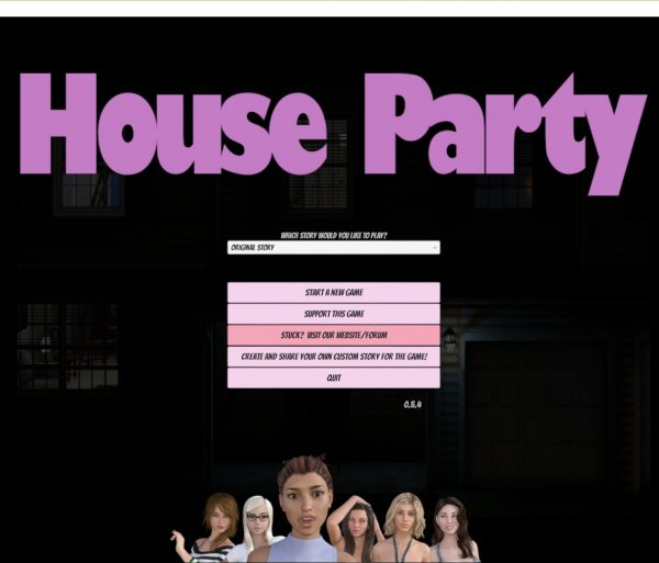Eekllc - House Party [VVersion 0.9.0] (2017) (Eng) Update