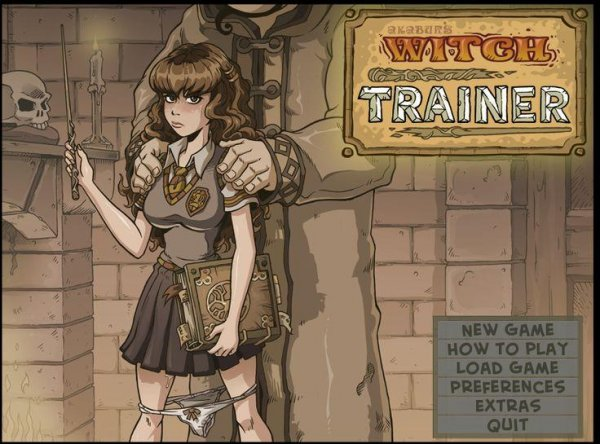 Akabur - Witch Trainer - Silver Mod [Version 1.26 (2017) (Eng) Update