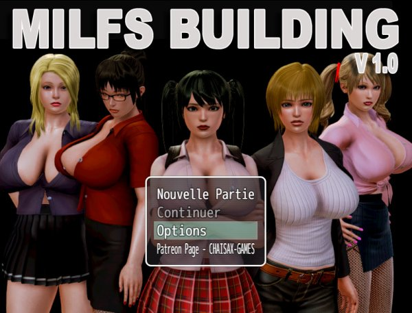 Chaixasgames - Milf's Building [Version 1.2] (2017) (Eng) Update