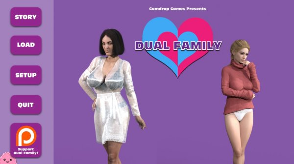 Gumdropgames - Dual Family [v.0.90 CE + Walkthrough] (2017) (Eng)