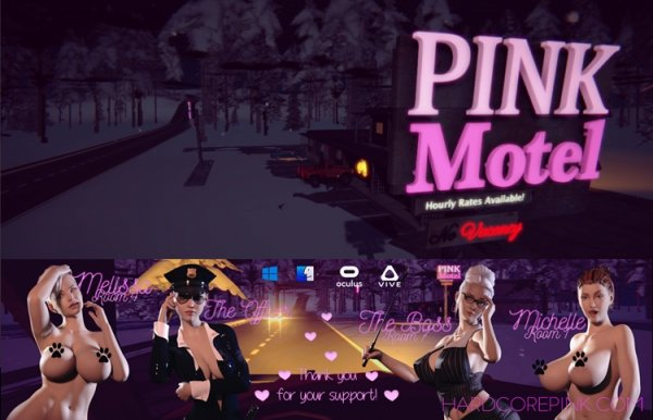 Hardcore Pink - Motel - Version 0.0.13.6 Update