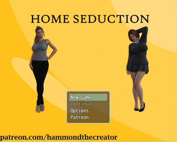 Hammondthecreator - Home Seduction [Version 0.8] (2017) (Eng) Update