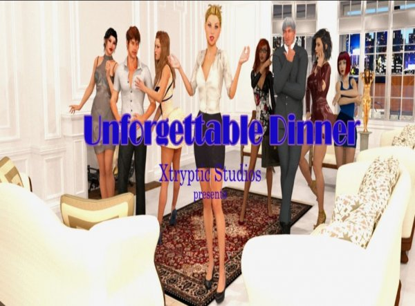 Xtrypticstudio - Unforgettable Dinner [Version 0.09] (2018) (Eng) [HTML] Update