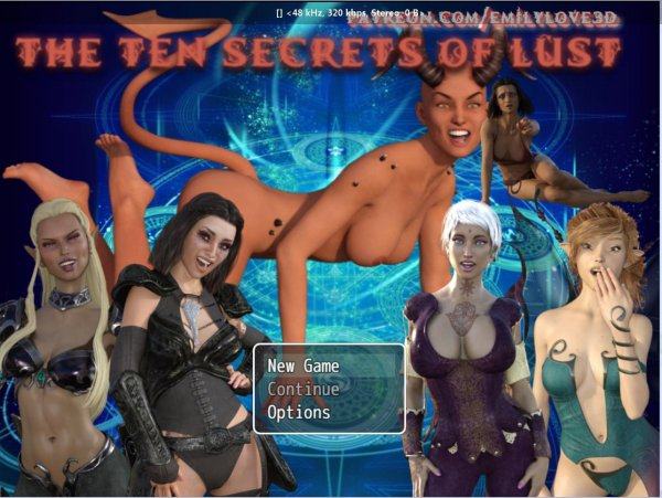 EmilyLove3D - The Ten Secrets of Lust [v.0.0.3f] (2017) (Eng) [RPGM]