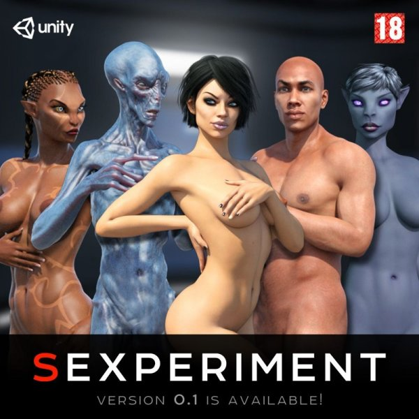 ExxxPlay - Sexperiment [Version 0.3.5] (2018) (Eng) Update