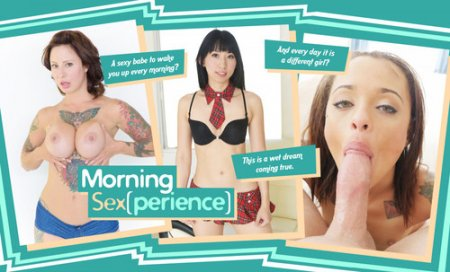 LifeSelector - Holly Hendrix ,Dolly Darko ,Kalina Ryu ,Kiteh Kawasaki  - Morning Sex