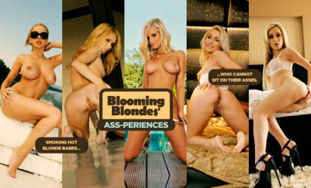 LifeSelector - Mandi Dee ,Miela ,Sandra Luberc ,Lina Napoli ,Celine Doll - Blooming Blondes' Ass-periences