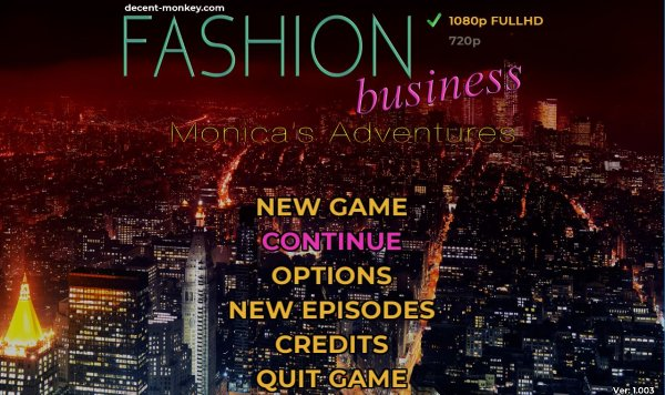 Fashion Business: Monica's Adventures - EP1 Completed  Update