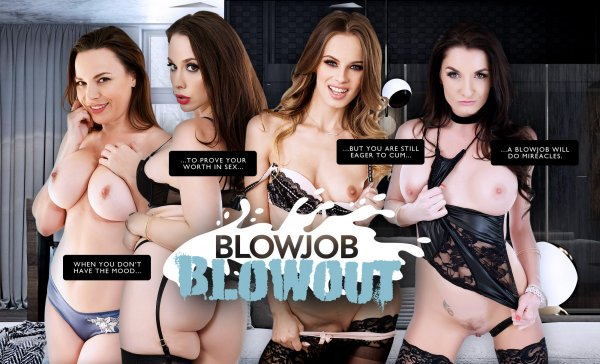 LifeSelector - Chanel Preston, Silvia Saige, Jillian Janson, Dana DeArmond - Blowjob Blowout