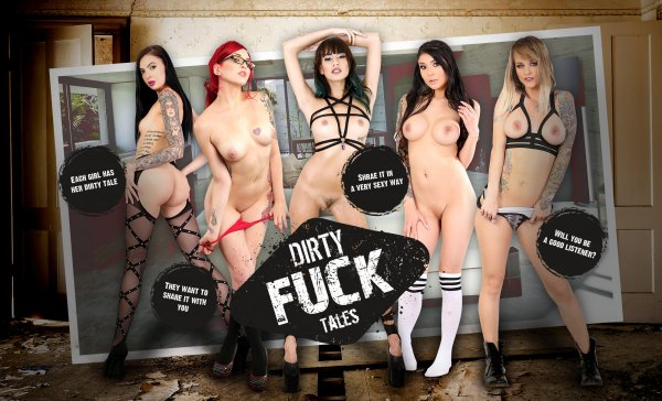 LifeSelector - Janice Griffith ,Brenna Sparks ,Amber Ivy ,Marley Brinx ,Sammie Six - Dirty Fuck Tales