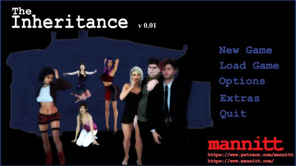 Mannitt - The Inheritance [Version 0.03] (2018) (Eng) Update