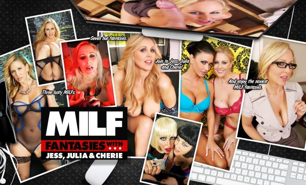 Lifeselector - Jessica Jaymes, Cherie Deville, Julia Ann - MILF Fantasies
