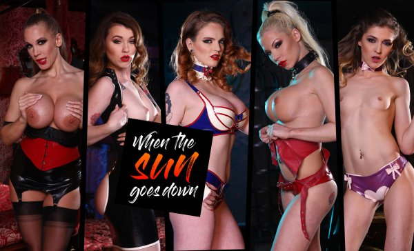 Lifeselector - Misha Cross, Carly_Rae_Summers, Rebecca More, Rhiannon Ryder, Barbie Sins - When the Sun Goes Down