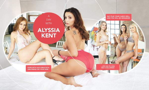 Lifeselector - Tiffany Tatum, Alyssia Kent, Kaisa Nord, Angelika Grays - A day with Alyssia Kent