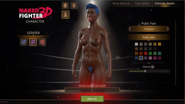 Sam - Naked Fighter 3D - Version 0.08 Ultimate