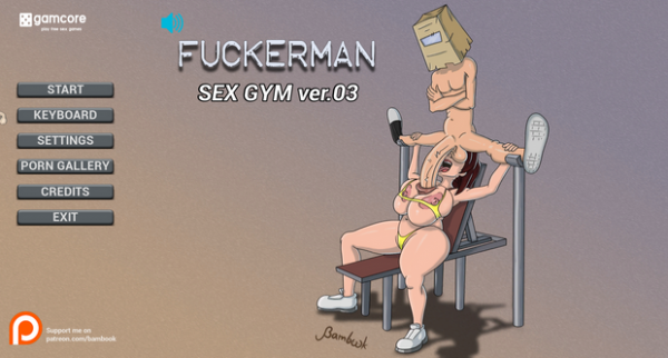 Bambook - Fuckerman: Sex gym v0.3