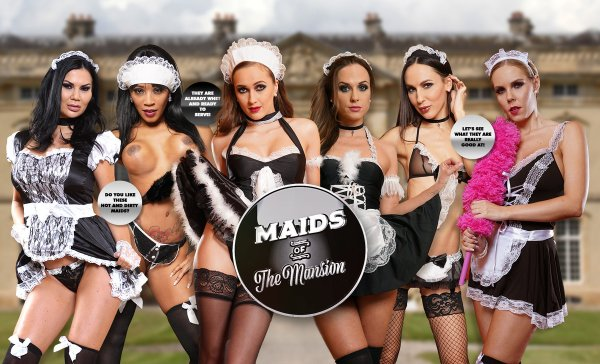 LifeSelector - Kiki Minaj ,Jasmine Jae ,Lilu Moon ,Vinna Reed ,Stacy Cruz ,Florane Russel - Maids of the Mansion