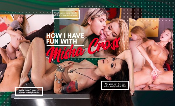 Lifeselector - Gina Gerson, Misha Cross, Ariadna, Daphne Klyde - How I Have Fun with Misha Cross