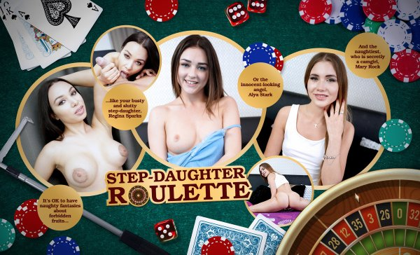 Lifeselector - Mary Rock, Regina Sparks, Alya Stark - Step-Daughter Roulette