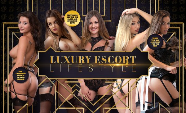 Lifeselector - Lucy Heart, Anna Polina, Clea Gaultier, Cara_St Germain - Luxury Escort Lifestyle