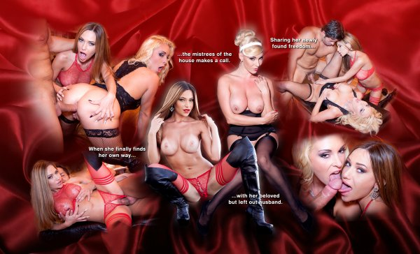 Lifeselector - Kira Queen, Subil Arch, Brittany Bardot, Victoria_Summers, Cara_St Germain  - The Swinger Wife