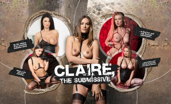 LifeSelector - Candy Alexa ,Lucy Heart ,Ania Kinski ,Claire Castel ,Mina Sauvage - Claire, the Submissive
