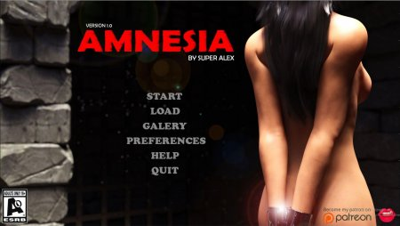 Super Alex - Amnesia  New Version 0.6B